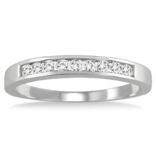 <strong>Szul Jewelry</strong> Round Cut Channel Set Diamond Band