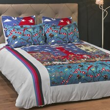 Pottering at the Port 3 Piece Duvet Set