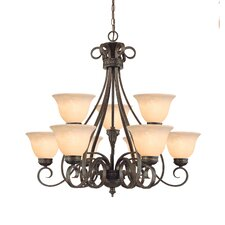 Alma 9 Light Chandelier