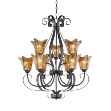 <strong>Millennium Lighting</strong> Chatsworth 9 Light Chandelier