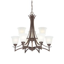 <strong>Millennium Lighting</strong> Canton 9 Light Chandelier