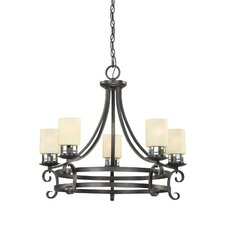 <strong>Millennium Lighting</strong> Monroe 5 Light Chandelier