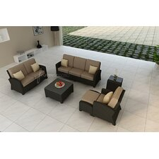 Barbados 6 Piece Sofa Deep Seating Group with Cushion