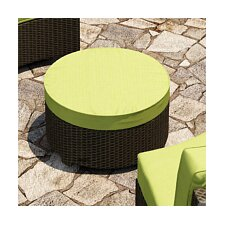 <strong>Forever Patio</strong> Barbados Ottoman with Cushion