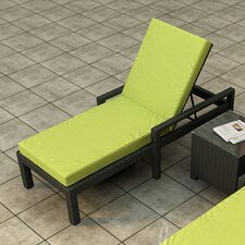 Barbados Chaise Lounge with Cushion