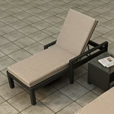 <strong>Forever Patio</strong> Barbados Chaise Lounge with Cushion