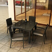 <strong>Forever Patio</strong> Barbados 5 Piece Dining Set