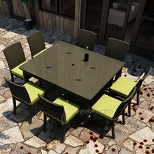 Barbados 9 Piece Dining Set