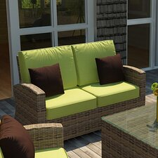 <strong>Forever Patio</strong> Cypress Loveseat with Cushion