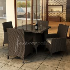 <strong>Forever Patio</strong> Hampton 5 Piece Dining Set