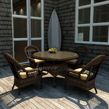 Leona 5 Piece Dining Set