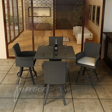 <strong>Forever Patio</strong> Hampton 5 Piece Bar Height Dining Set