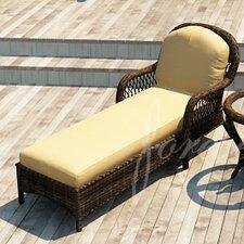 Leona Chaise Lounge with Cushion
