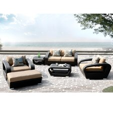 Carlton 6 Piece Deep Seating Group with Cushion