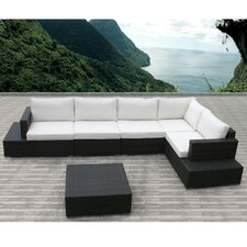 <strong>Sirio</strong> Acapulco 5 Piece Deep Seating Group with Cushion