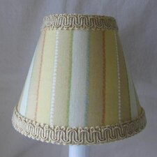 "5"" Mustard Seed Fabric Empire Candelabra Shade"