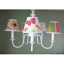 Summertime Mix and Match 5 Light Chandelier