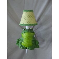<strong>Silly Bear Lighting</strong> Leap Frog 1 Light Wall Sconce