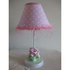 Baby Pink Flower Table Lamp