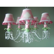<strong>Silly Bear Lighting</strong> Tulip Bouquet 5 Light Chandelier