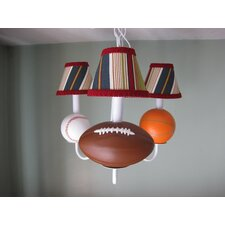 <strong>Silly Bear Lighting</strong> All Star Sports 3 Light Chandelier
