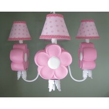 <strong>Silly Bear Lighting</strong> Daisy Delight 4 Light Chandelier