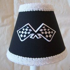"5"" Race Day Fabric Empire Candelabra Shade"
