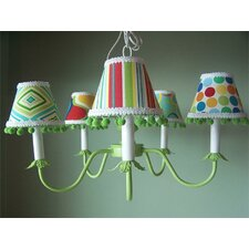 Primary Mix and Match 5 Light Chandelier
