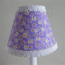 "5"" Dancing Daisies Fabric Empire Candelabra Shade"