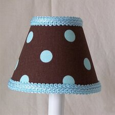 "5"" Dotty Dots Fabric Empire Candelabra Shade"