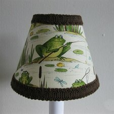 Fishing Frogs Chandelier Shade