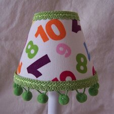 "5"" The Final Countdown Fabric Empire Candelabra Shade"