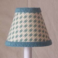 "5"" Humpty Dumpty Houndstooth Fabric Empire Candelabra Shade"