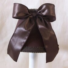 "5"" Chocolate Chips Fabric Empire Candelabra Shade"