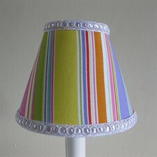 "5"" Sweet Candy Stripes Fabric Empire Candelabra Shade"