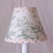 "5"" Central Park Fabric Empire Candelabra Shade"