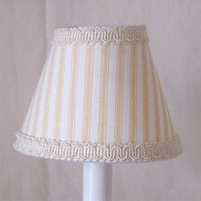 Striped Clamshell Table Lamp Shade