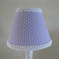 "5"" Teeny Chenille Fabric Empire Candelabra Shade"