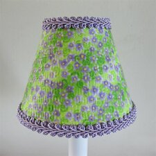 "5"" Lavender Fields Fabric Empire Candelabra Shade"