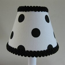 <strong>Silly Bear Lighting</strong> Black Dotty Chandelier Shade