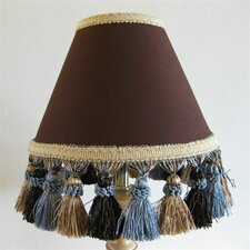 "5"" Butterscotch Sundae Fabric Empire Candelabra Shade"