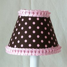 "5"" Strawberry Sprinkles Fabric Empire Candelabra Shade"