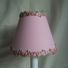 "5"" Sweet and Simple Fabric Empire Candelabra Shade"