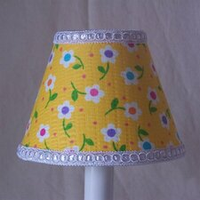 "5"" Happy Days Dots Fabric Empire Candelabra Shade"