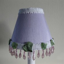 "5"" Fluttering Butterfly Fabric Empire Candelabra Shade"