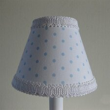 "5"" Rocking Dots Fabric Empire Candelabra Shade"