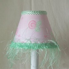 Dainty Blush Table Lamp Shade