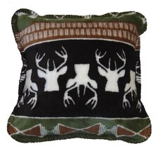 <strong>Denali Throws</strong> Acrylic / Polyester Nordic Deer Pillow