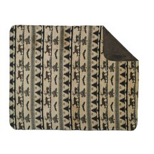 <strong>Denali Throws</strong> Acrylic Deer Haven Double-Sided Throw