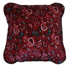 Acrylic / Polyester Paisley Pillow